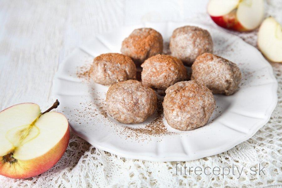 Celozrnné jablkové knedličky