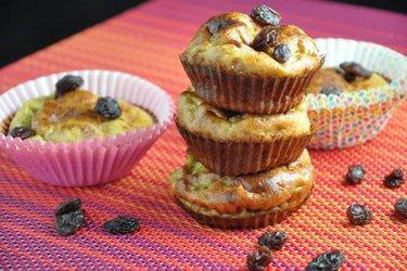 Jednoduché fitness banánové muffiny (bez múky a cukru)