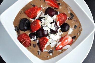 Zdravá kakaová zmrzlina