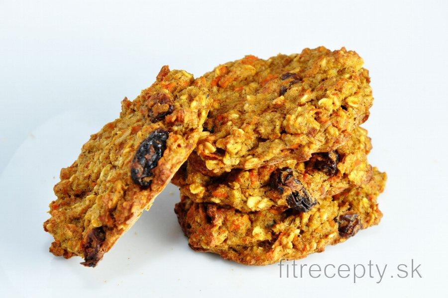 Mrkvovo jablkové fit cookies alebo chlieb bez pridania múky, cukru a tuku
