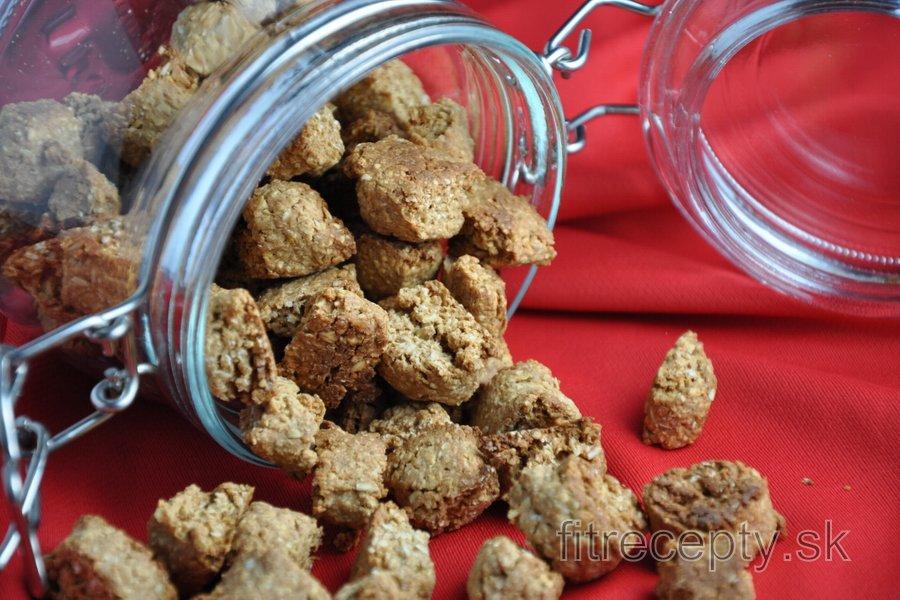 Zdravé vianočné/nevianočné perníkové keksíky