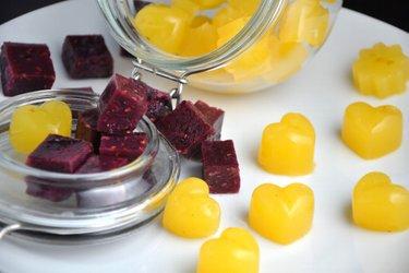Zdravé domáce želé cukríky