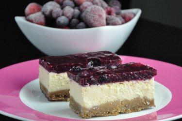 Fitness jogurtový cheesecake (bez múky a cukru)