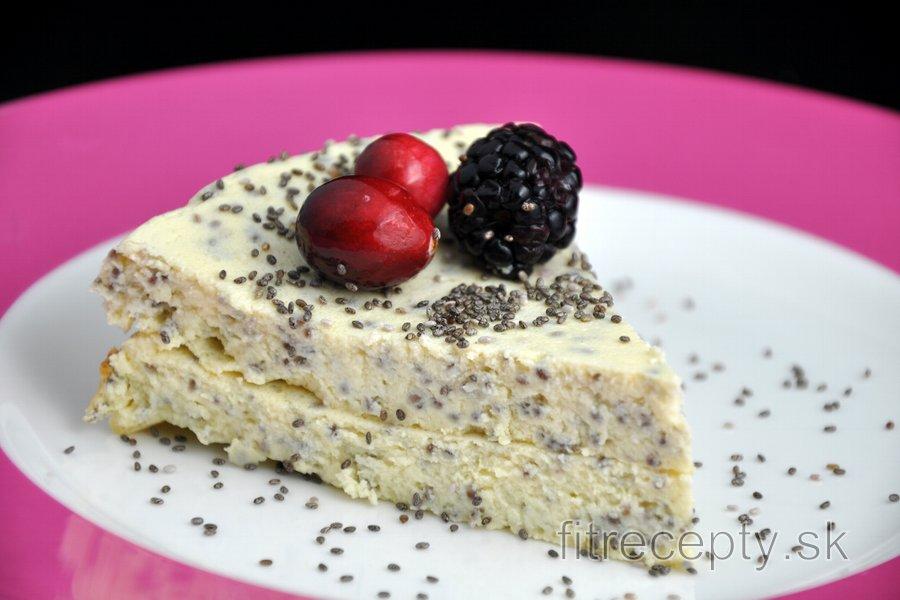 Cottage koláč s makom alebo chia semienkami