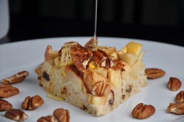 Jablkovo-ovsený koláč bez múky
