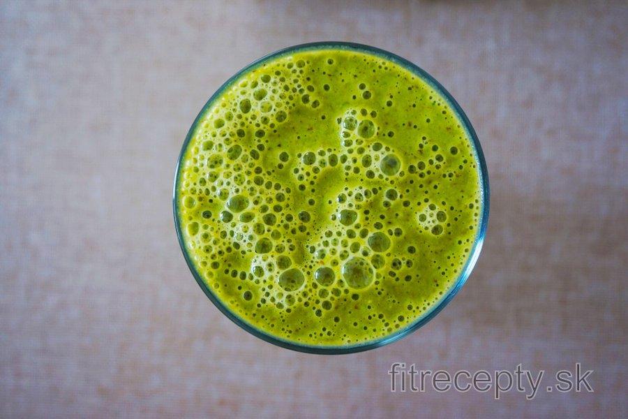 Zdravý zelený smoothie