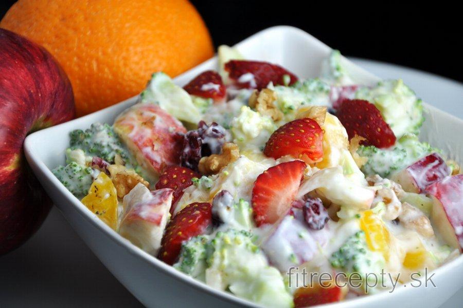 Zeleninovo ovocný šalát
