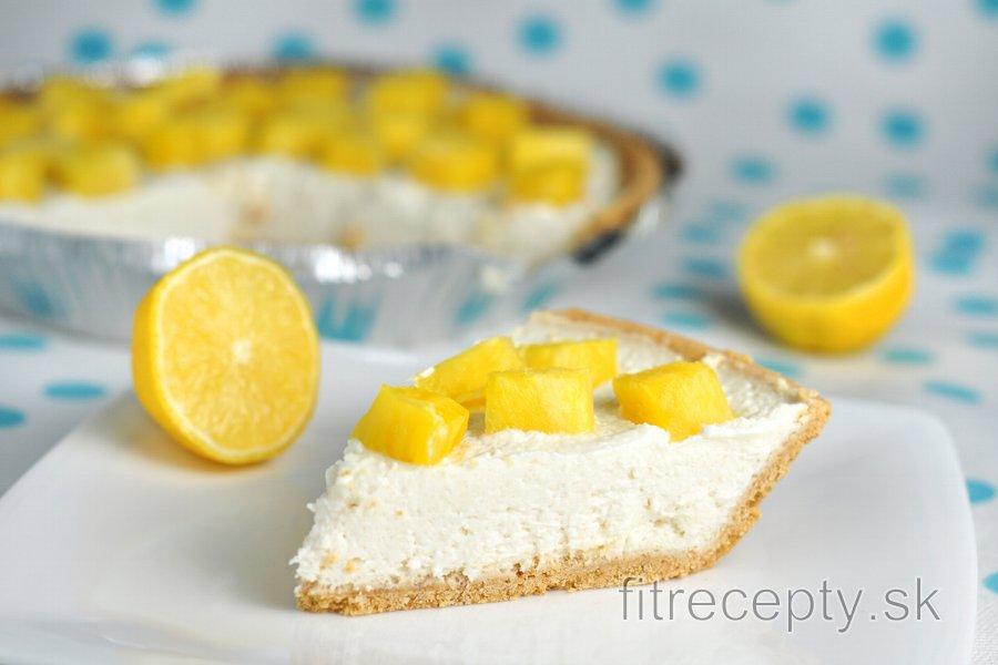 Výborný nepečený citrónový cheesecake