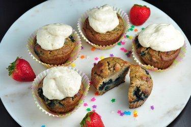 Zdravé muffiny z kokosovej múky