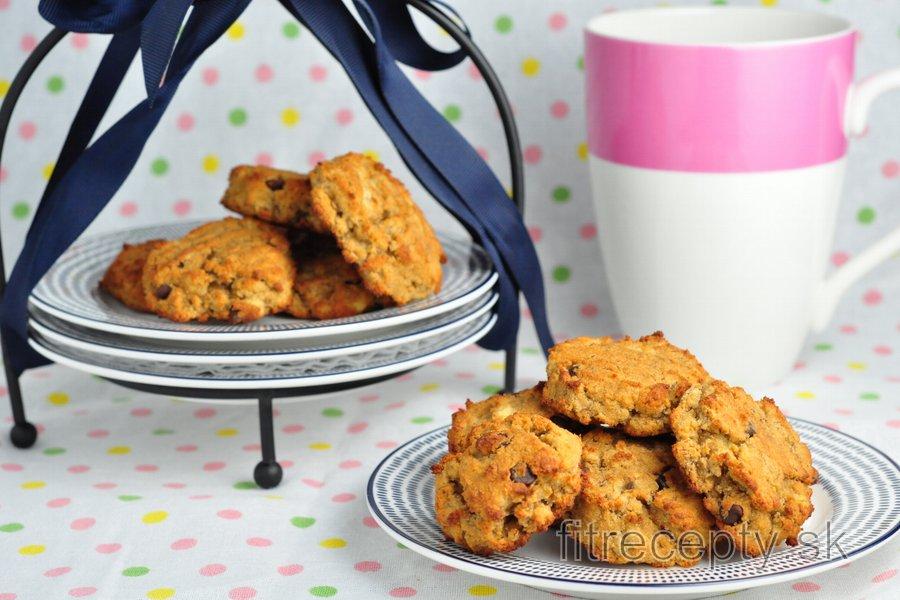 Banánové cookies z kokosovej múky - bez cukru a bez lepku