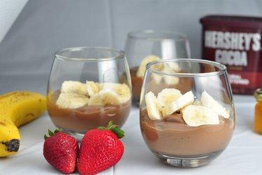 Zdravé banány v čokoláde