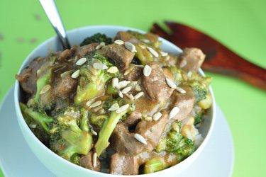 Hovädzie mäso s brokolicou