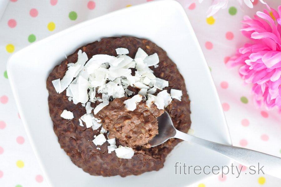 Pohánkový/kuskusový/quinoový/ryžový čokoládovo-arašidový puding