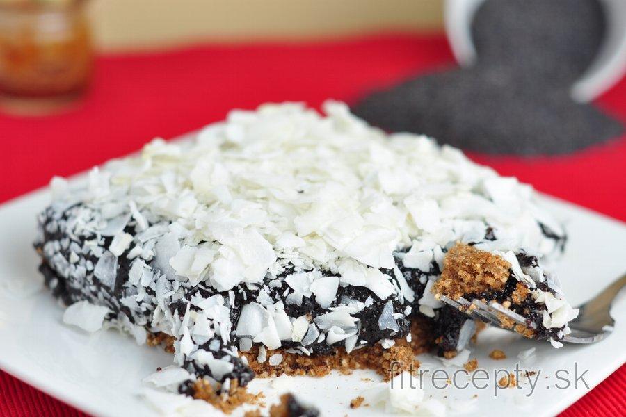 Nepečený makový koláč