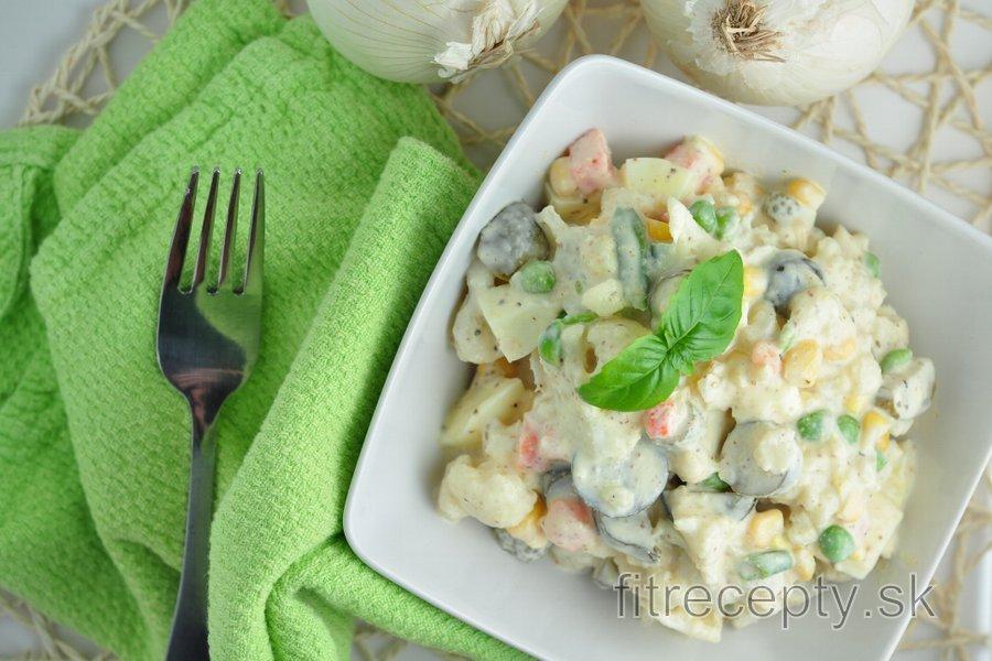 Karfiolový šalát na spôsob zemiakového