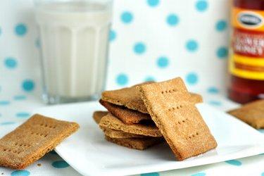 Pohánkové/grahamové sušienky s medom