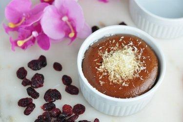 Individuálny kakaový cheesecake z tvarohu