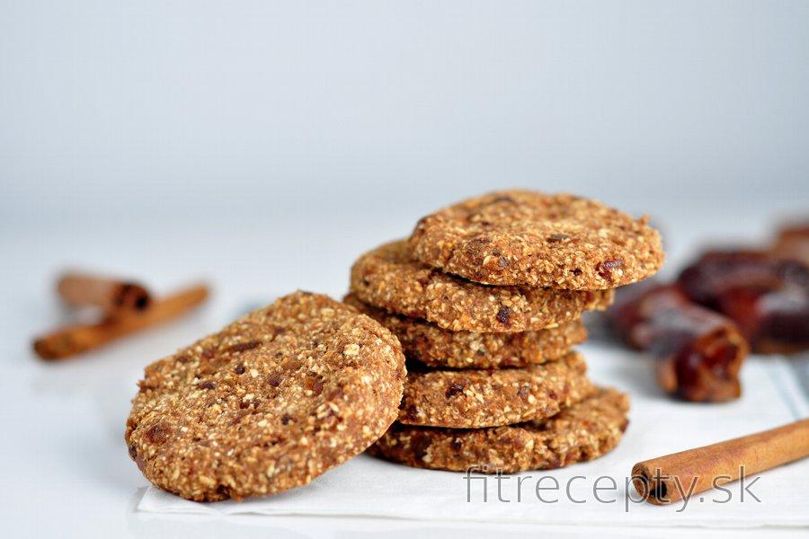 Škoricové ovsené cookies