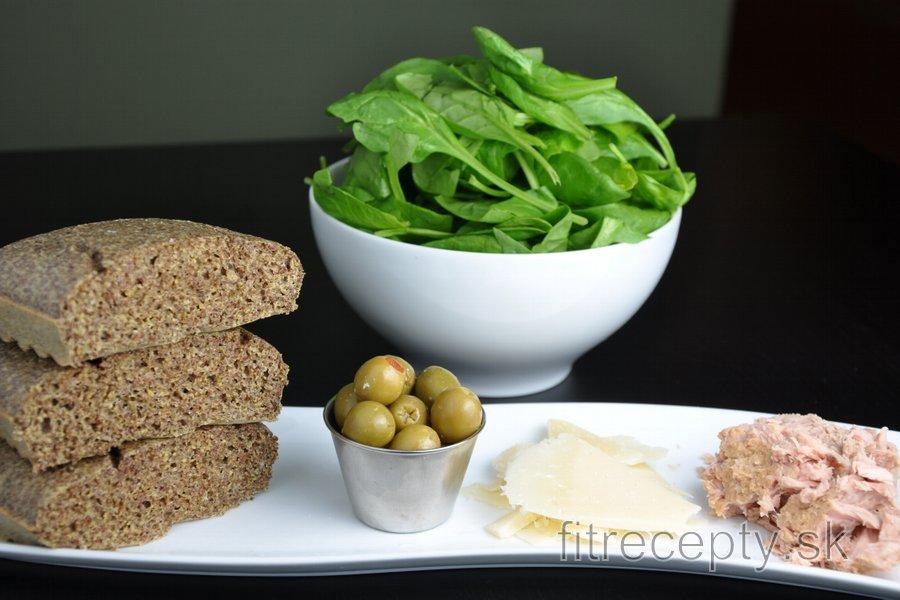 Ľanový chlieb bez múky