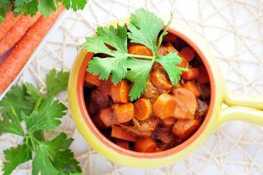 Indické mrkvové kari