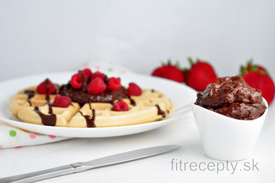 Zdravá čokoládová nátierka - fitness Nutella