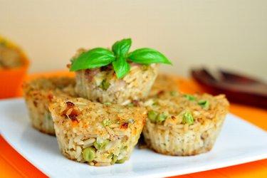 Ryžovo-kuracie muffiny