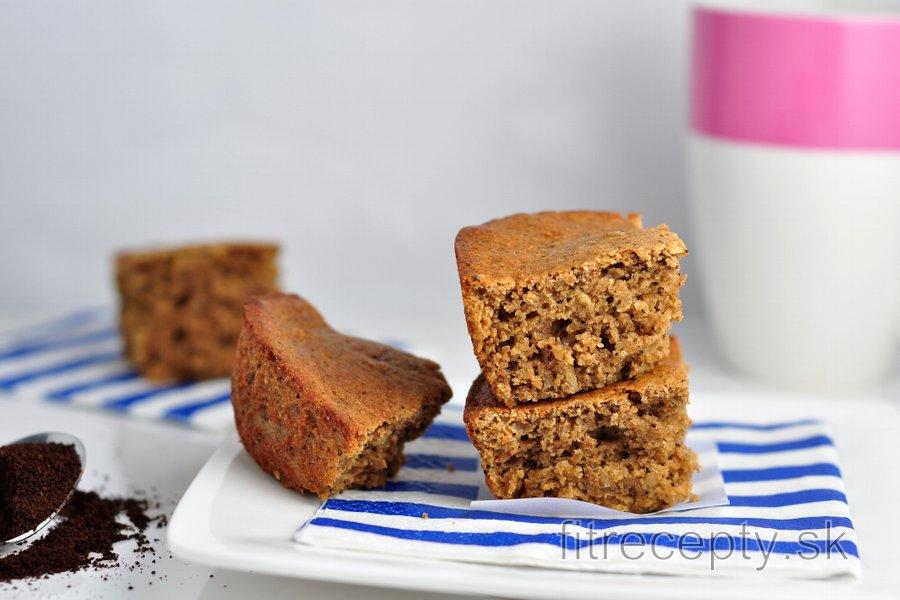 Ovseno-kávový koláč