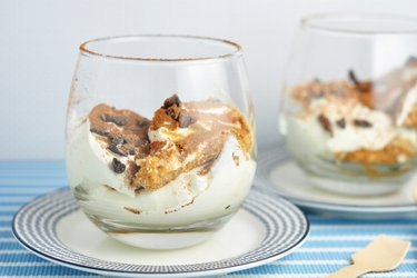 Cookie Dough Cheesecake poháre