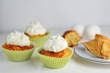 Nízkosacharidové arašidové muffiny s proteínom