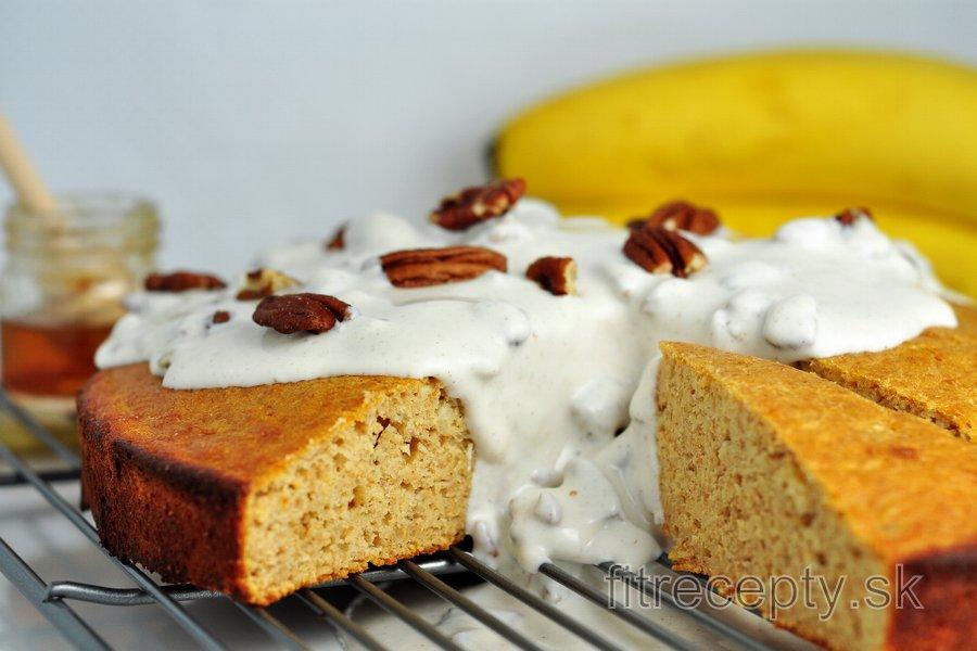 Špaldovo-banánová torta