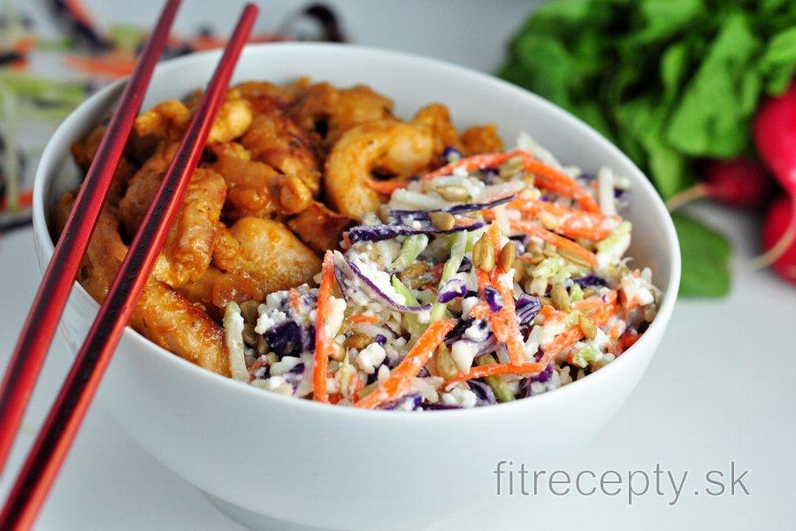Ázijský kurací šalát