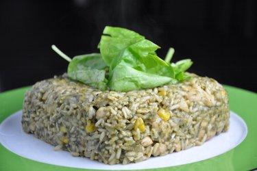 Výborné kuracie rizoto so špenátom