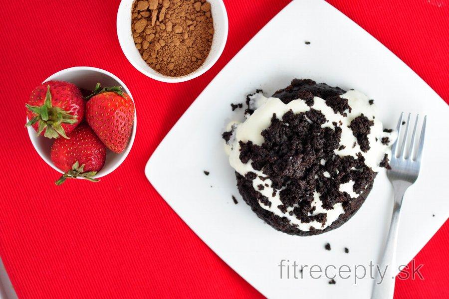 """Hrnčekový koláčik """"kráter"""""""