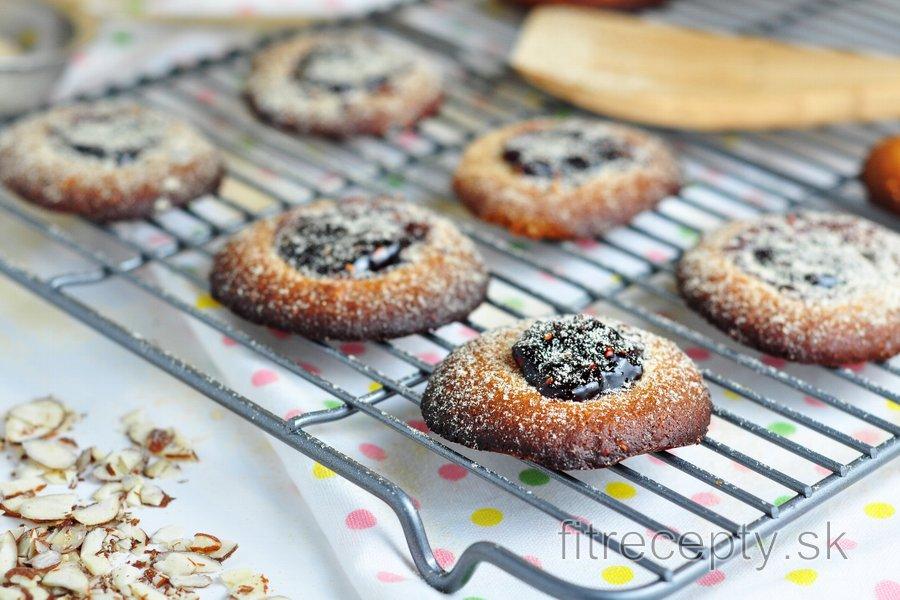 Marmeládové cookies bez múky
