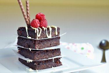 Šťavnatý cuketový brownie