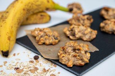Ovseno-banánové cookies s proteínom