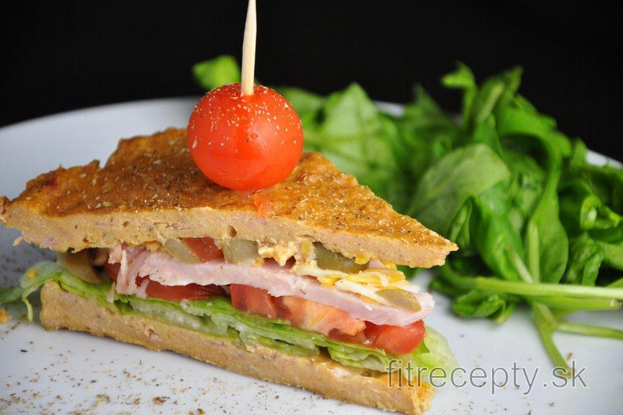 Fit sendvič z tuniaka