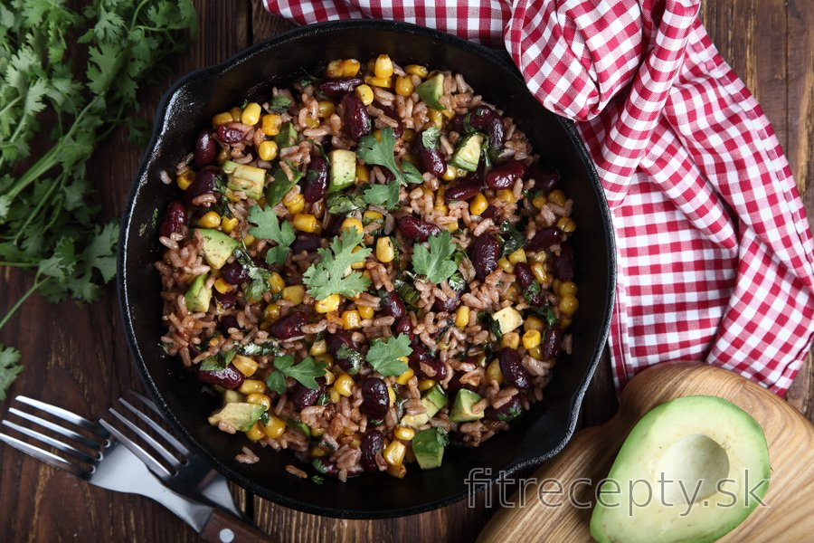 Fit mexická ryža