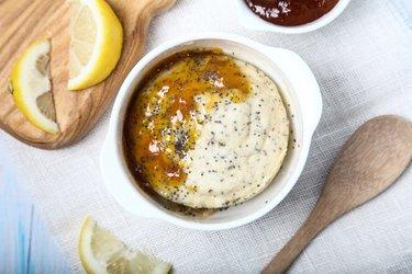 Fit citrónovo-makový hrnčekový koláčik