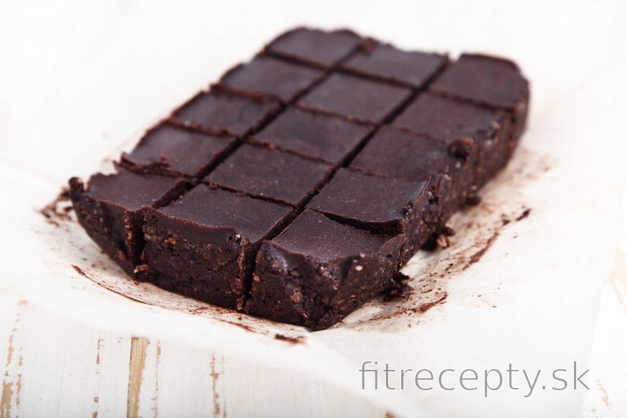 Zdravé nepečené brownies