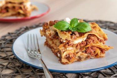 Jednoduché lasagne so zeleninou