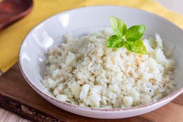 Karfiolová ryža - diétna príloha