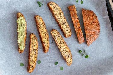 Večerný chlieb (nízkosacharidový, bez lepku)