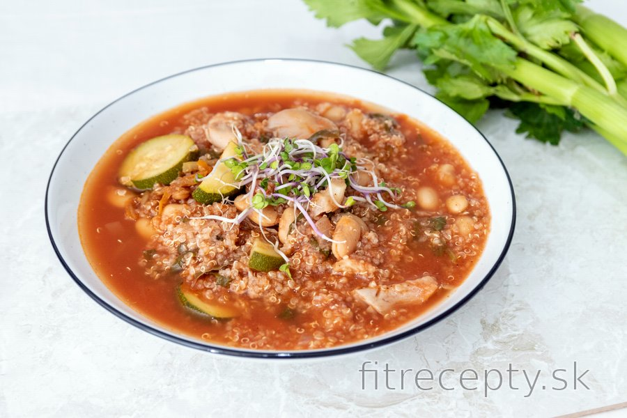 Fit minestrone polievka