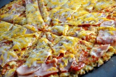 Zdravá karfiolová pizza