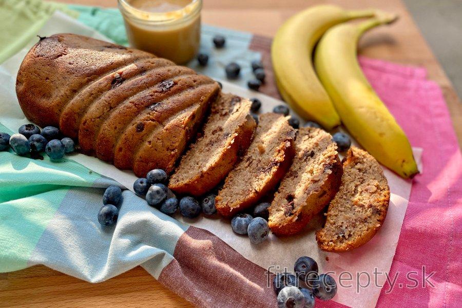 Zdravý banana bread - banánový chlieb recept