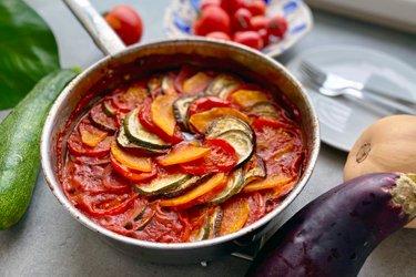 Zeleninové ratatouille recept