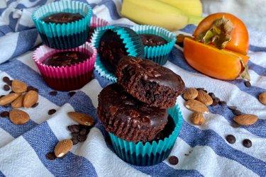 Fit čokoládové muffiny