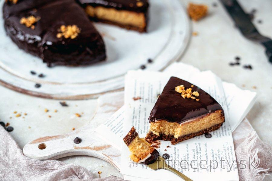 Vynikajúci zdravý Reese's cheesecake