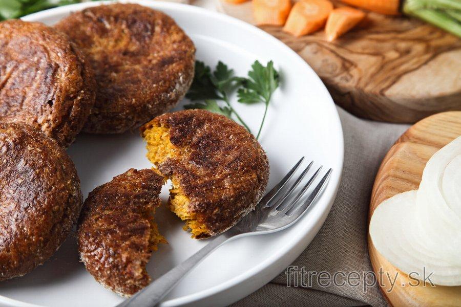 Pečené mrkvové karbonátky